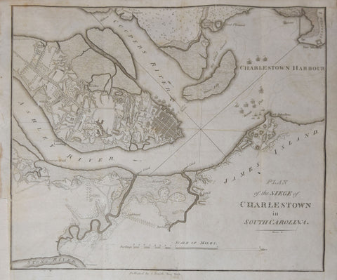 Charles Smith, A Plan of the siege of Charlestown in South Carolina