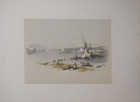 David Roberts (1796-1864), Port of Tyre