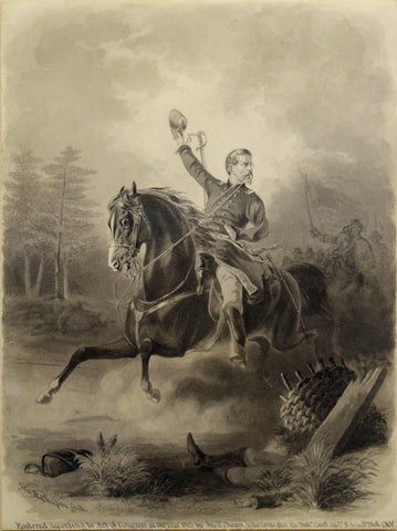"John R. Chapin,  ""Portrait of General Philip Kearny"""