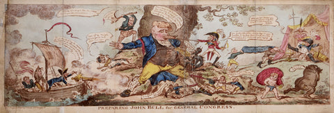 George Cruikshank (1792-1878), Preparing John Bull for General Congress