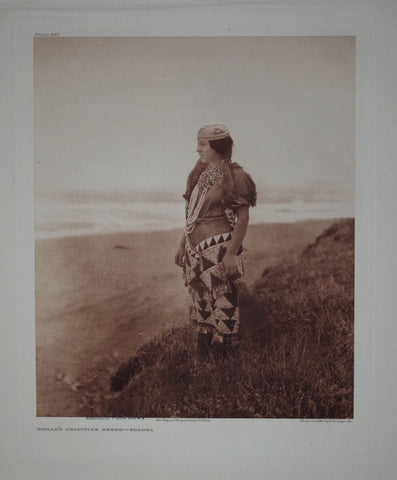 Edward S. Curtis (1868-1953), Primitive Dress Tolowa Pl 461