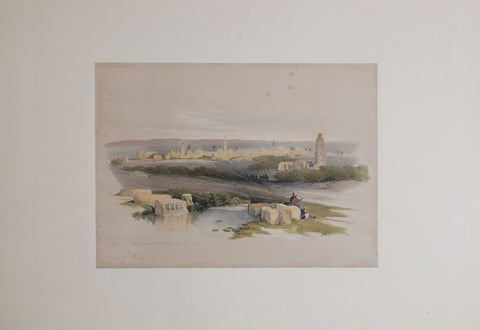 David Roberts (1796-1864), Ramla Ancient Arimathea