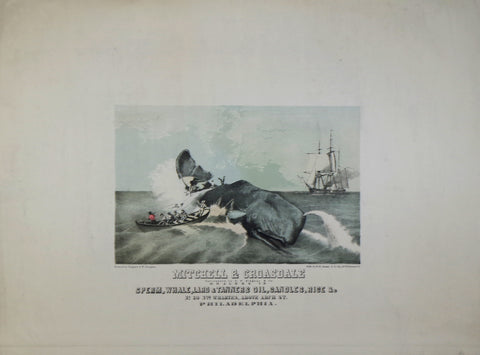 William H. Rease (American, 1818-1872), Successors to G. W. Ridgway & Co., Dealers in Sperm Whale Lard & Tanners Oil...