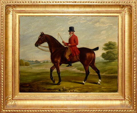 Unknown Artist, Redcoat on Horse