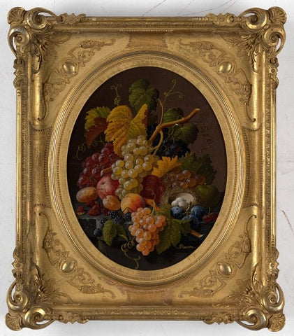 Severin Roesen (circa 1816-1872), Still Life with Fruit