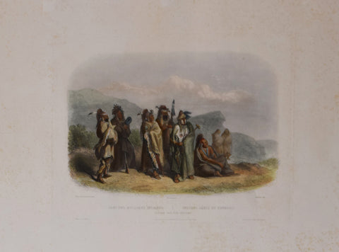 Karl Bodmer (1809-1893), Saukie and Pox Indians