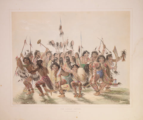 George Catlin (1796-1872), Scalp Dance