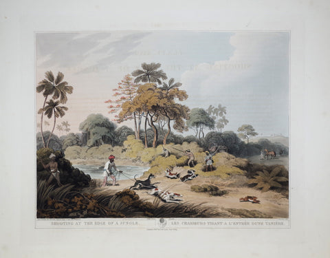Thomas Williamson (1758-1817) and Samuel Howitt (1765-1822), Shooting at the Edge of a Jungle