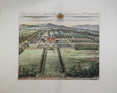 Johannes Kip (1652-1722), Shurdington the Seat of Dulcibella