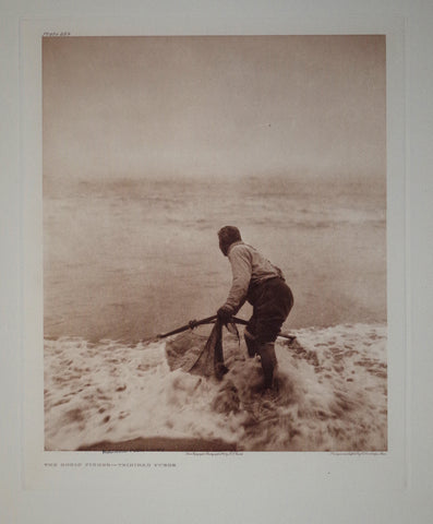 Edward S. Curtis (1868-1953), Smelt Fisher Yurok Pl 469