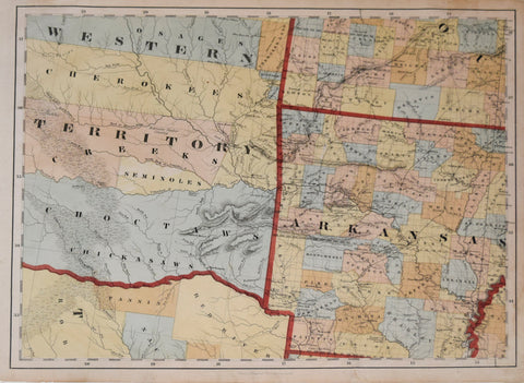 Calvin Smith, [Arkansas and Western Territory with part of Missouri and Texas]
