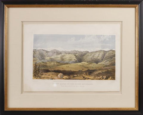 Alfred E. Mathews (1831-1874), Snowy Range of the Rocky Mountains