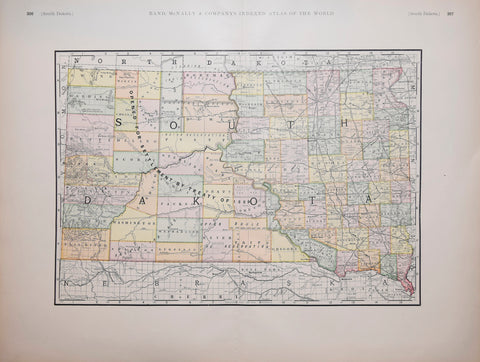 Rand McNally & Co., South Dakota