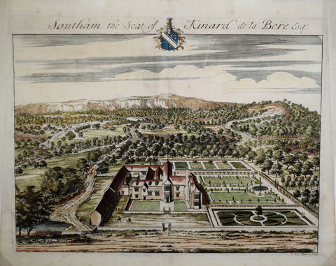 Johannes Kip (1652-1722), Southam the seat of Kinard