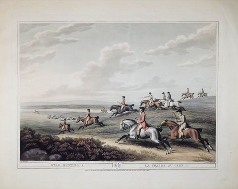 Thomas Williamson (1758-1817) and Samuel Howitt (1765-1822), Stag Hunting
