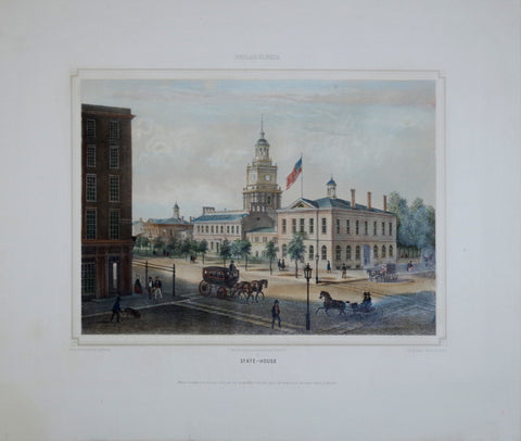 Augustus Kollner (1813-1906), After, Philadelphia, State House