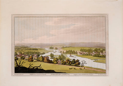 Joseph Farington (1747-1821) after, Streatley and Goring