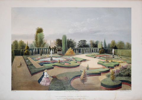 E. Adveno Brooke (fl. 1844-1864), The Alhambra Garden