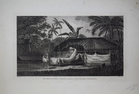 Captain James Cook (1728-1729) and John Webber (1751-1793), The Body of Tee, a Chief, as preserved after Death, in Otaheite.