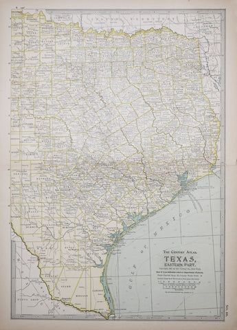 Matthews-Northrup Co., Texas, Eastern/Western Part and Panhandle  [Eastern]
