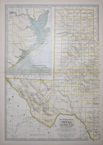Matthews-Northrup Co., Texas,  Eastern/Western Part and Panhandle [Western]
