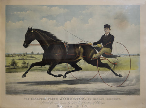 Nathaniel Currier (1813-1888) & James Merritt Ives (1824-1895), Champion Pacer Johnston