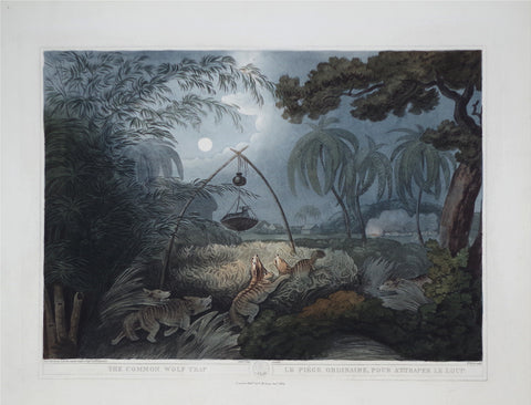 Thomas Williamson (1758-1817) and Samuel Howitt (1765-1822), The Common Wolf Trap