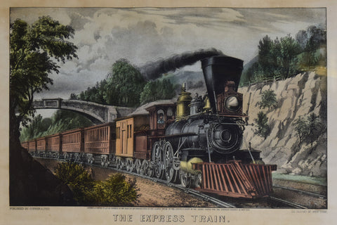 Nathaniel Currier (1813–1888) & James Merritt Ives (1824–1895), The Express Train