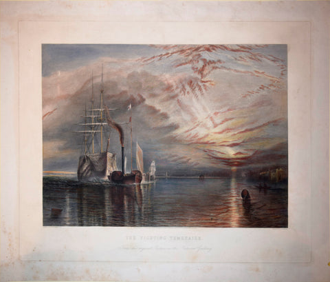 "After Joseph Mallord William Turner (1775 - 1851), ""The Fighting Temeraire"""