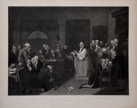 H.S. Sadd, After Tompkins Harrison Matteson, The First Prayer in Congress