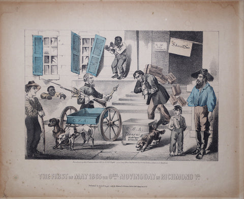 Kimmel & Forster, The First Day of May 1865 or Genl. Moving Day in Richmond, Va.