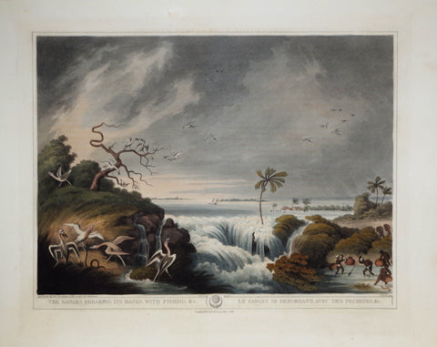 Thomas Williamson (1758-1817) and Samuel Howitt (1765-1822), The Ganges Breaking its Banks with Fishing