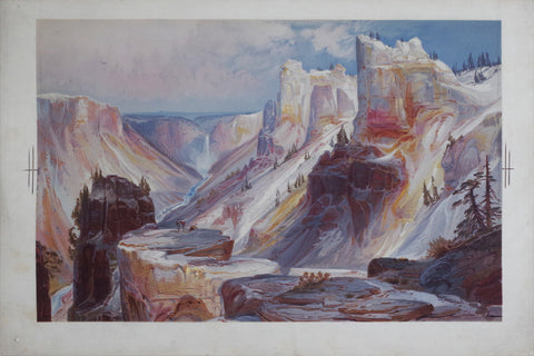 Thomas Moran (1837-1926), The Grand Canyon of Yellowstone