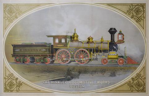 Dominick I Drummond (ca. 1830-1899), The Hinkley Locomotive Works. Boston.