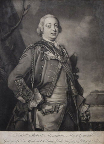 Thomas Hudson, The Honorable Robert Monckton Major General of New York