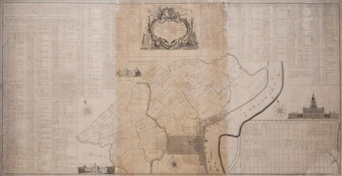 John Reed (1887-1920), The Honorable House of Representatives... Map of the City and Liberties at Philadelphia…