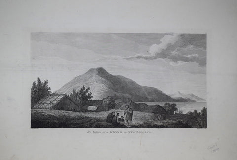 Captain James Cook (1728-1729) and John Webber (1751-1793), The Infide of a Hippah in New Zealand