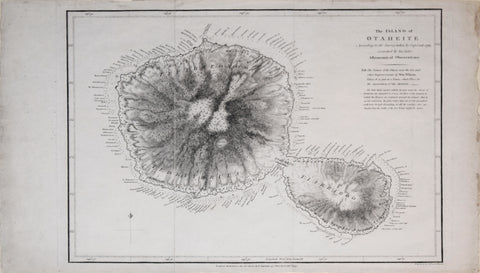 James Wilson (1759-1814), after Capt. James Cook (1728-1779), The Island of Otaheite [Tahiti]