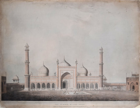 Henry Salt (1780-1827), The Jummah Musjed, Delhi