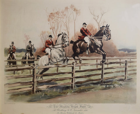 W. S. Vanderbilt Allen, The Meadow Brook Hunt - Hitchcock Jr Master