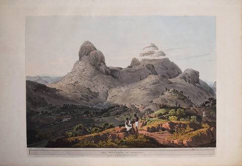 Henry Salt (1780-1827), The Mountains of Samayut