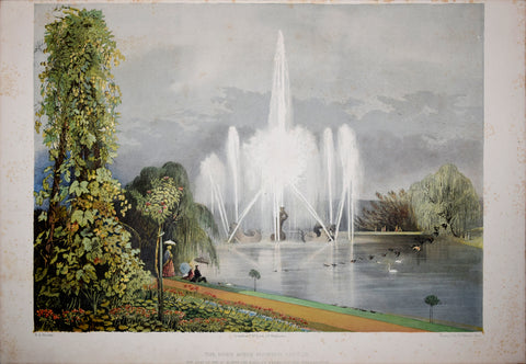 E. Adveno Brooke (fl. 1844-1864), The River Horse Fountain