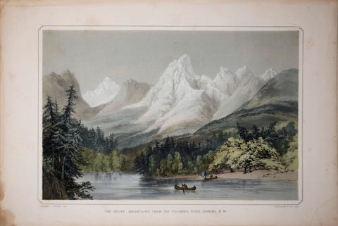 Sir Henry James Warre (1819–1898), The Rocky Mountains From the Columbia River Looking N.W.
