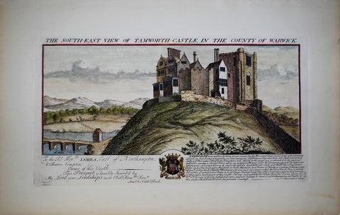 Samuel Buck (1696-1779) and Nathaniel Buck (fl. 1724-1759), The South-East view of Tamworth-Castle