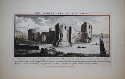 Samuel Buck (1696-1779) and Nathaniel Buck (fl. 1724-1759), The South East View of Flint Castle