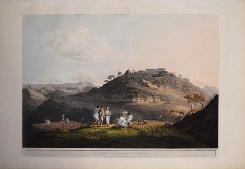 Henry Salt (1780-1827), The Town of Dixan in Abyssinia