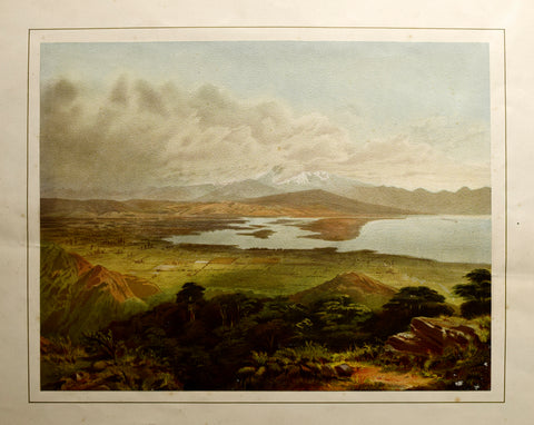 John Gully (1819-1888), The Waimea Plains and Cultivated Country Near Nelson