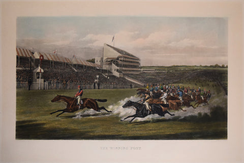 Henry Thomas Alken (1785-1851), after,  The Winning Post