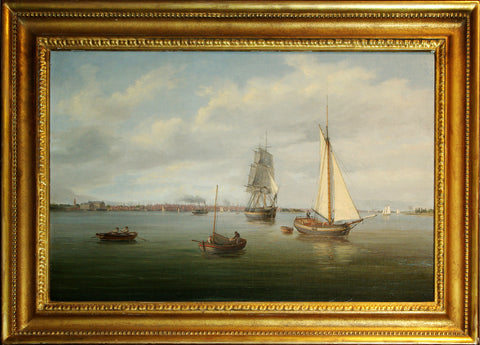 Thomas Birch (1779 - 1851), Philadelphia from the Delaware River
