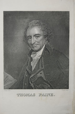 George Romney (1734-1802), Thomas Paine